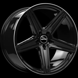 GMP Italia MK1-S CONCAVE black shiny diamond lip