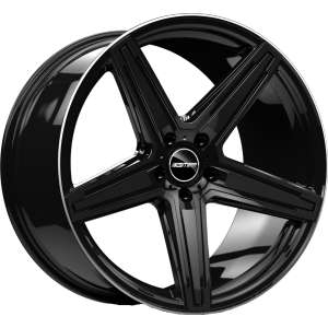GMP Italia MK1-S black shiny diamond lip